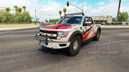 Ford F-150 SVT Raptor v2.2 pour American Truck Simulator
