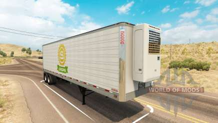 Utility 2000R trailer für American Truck Simulator