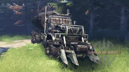 KrAZ 255 Mad Max pour Spin Tires