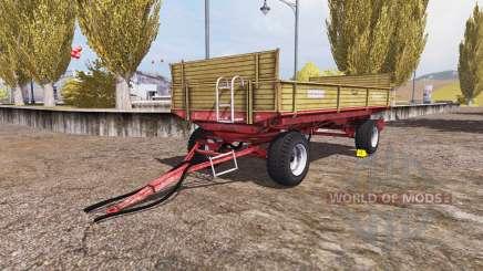 Krone Emsland bale pour Farming Simulator 2013