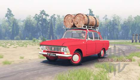Moskwitsch 412 v2.0 für Spin Tires