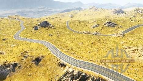 Baja hills pour BeamNG Drive