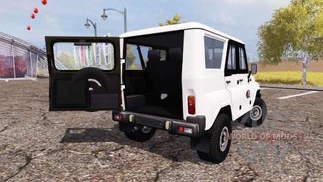 UAZ Hunter (315195) pour Farming Simulator 2013