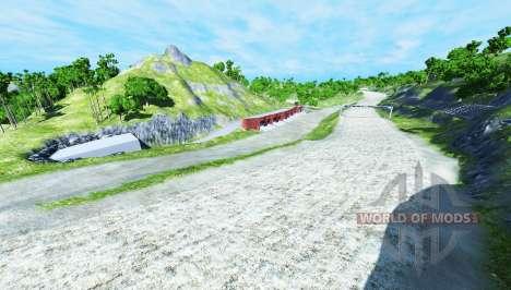 XValley raceway pour BeamNG Drive