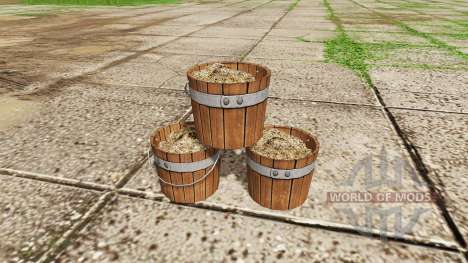 Fertilizer bucket v1.1 pour Farming Simulator 2017