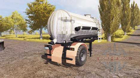 Manure semitrailer v2.0 für Farming Simulator 2013
