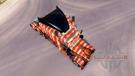 Creepy Carnevil de la peau pour le camion Peterb pour American Truck Simulator