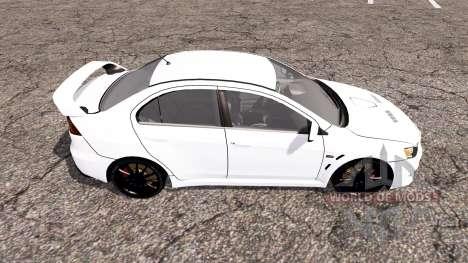 Mitsubishi Lancer Evolution X v2.0 für Farming Simulator 2013