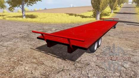 JBM Flat Racks für Farming Simulator 2013