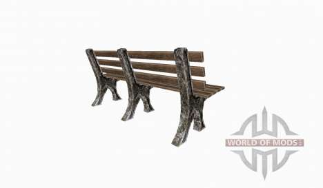 Park bench pour Farming Simulator 2015