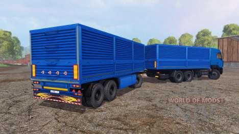 MAZ 6312А8 v1.2 für Farming Simulator 2015