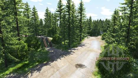 Small town v1.1 pour BeamNG Drive