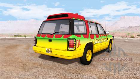Gavril Roamer Tour Car Jurassic Park v1.0 pour BeamNG Drive