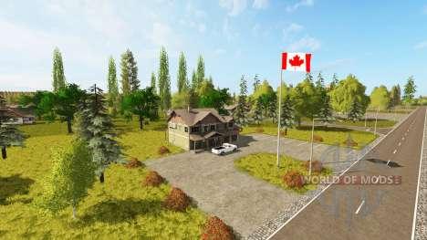 Canadian national map v1.1 für Farming Simulator 2017