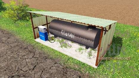 Gas station pour Farming Simulator 2015