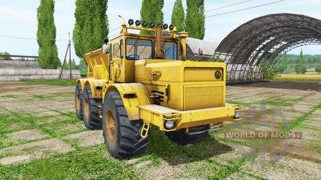Kirovets K 701 6x6 Dünger für Farming Simulator 2017