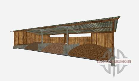 Pole barn potatos sugar beets für Farming Simulator 2015