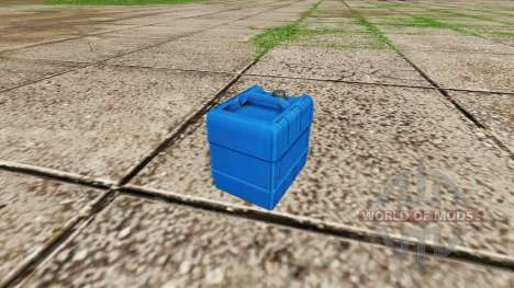 Bidon avec de l'engrais liquide v1.1 pour Farming Simulator 2017