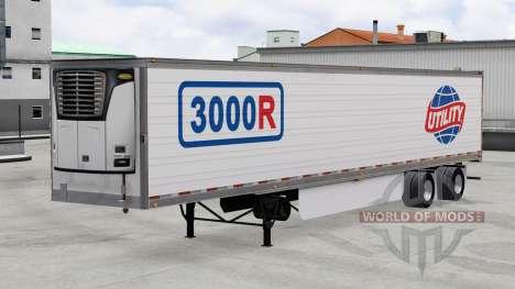 Reefer 3000R Long pour American Truck Simulator
