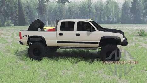 Chevrolet Silverado 2003 für Spin Tires