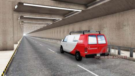 Endless Tunnel pour BeamNG Drive
