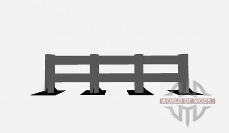 Fence pour Farming Simulator 2015