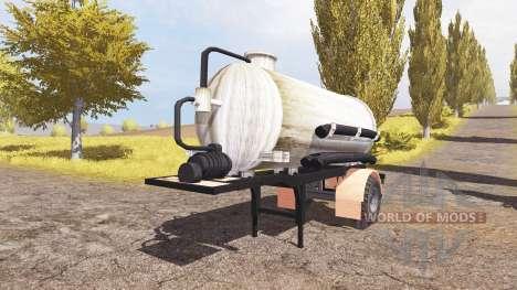 Manure semitrailer v2.0 pour Farming Simulator 2013