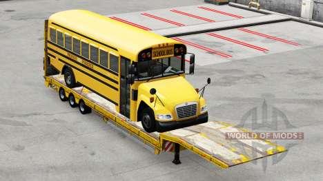 Low sweep, mit der Last bus für American Truck Simulator