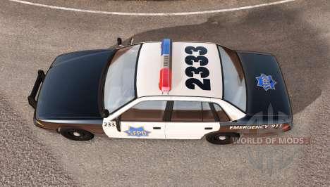 Gavril Grand Marshall SFPD pour BeamNG Drive