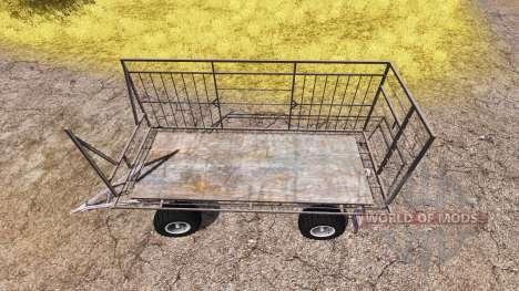 Bale trailer v3.0 für Farming Simulator 2013