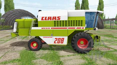 CLAAS Dominator 208 Mega für Farming Simulator 2017
