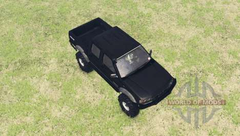 Nissan Navara ST-R Dual Cab (D22) v2.0 pour Spin Tires