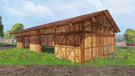 Halls pour Farming Simulator 2015