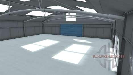 Warehouse photo studio pour BeamNG Drive