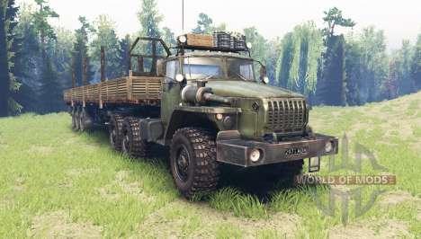 Ural 4320-41 v4.0 für Spin Tires
