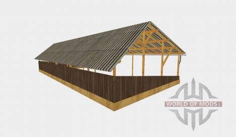Pole barn v2 für Farming Simulator 2015