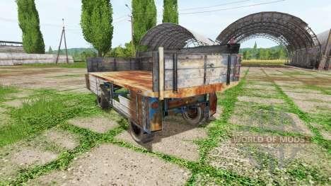 Tractor trailer pour Farming Simulator 2017
