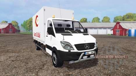 Mercedes-Benz Sprinter 316 NGT (Br.906) für Farming Simulator 2015