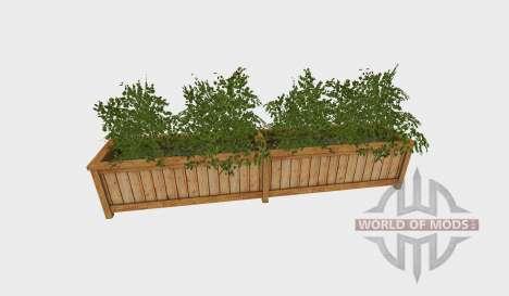 Planter box square pour Farming Simulator 2015
