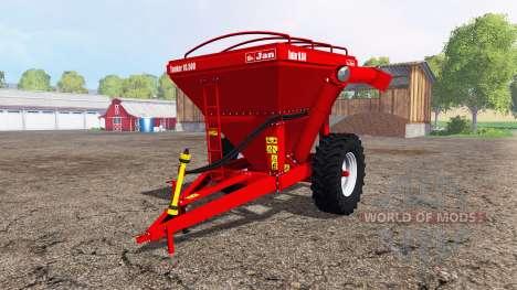 Jan Tanker 10.500 pour Farming Simulator 2015