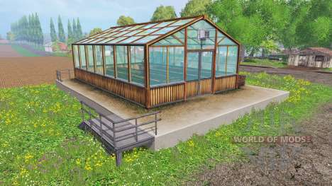 Hemp greenhouse pour Farming Simulator 2015