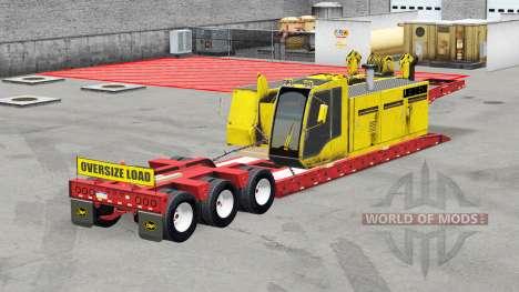 Bas de balayage Etnyre avec des poids v2.0 pour American Truck Simulator