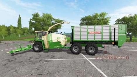 Krone BiG X 1100 ITC für Farming Simulator 2017