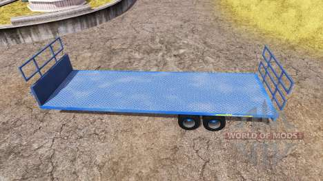 AWtrailers 12T pour Farming Simulator 2013