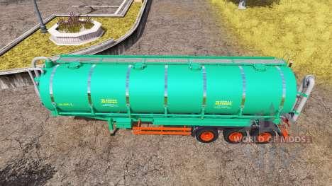 Aguas-Tenias tank manure v2.0 pour Farming Simulator 2013