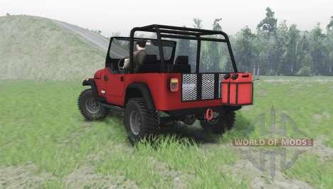 Jeep Wrangler (YJ) 1996 für Spin Tires