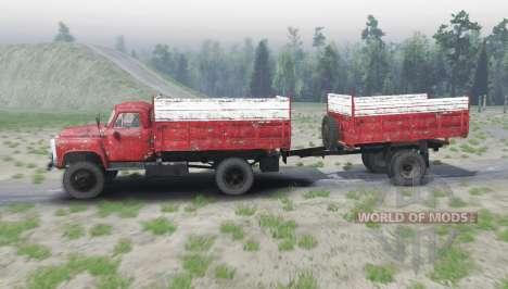GAZ 53 4x4 für Spin Tires