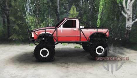 Toyota Hilux Cummins 1981 pour Spin Tires