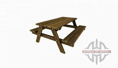 Picnic table für Farming Simulator 2015