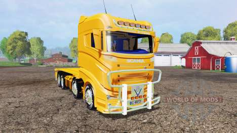 Scania R1000 container truck v1.1 pour Farming Simulator 2015